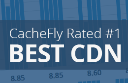 "CacheFly Tops ""Best CDN"" List for Second Year in a Row"